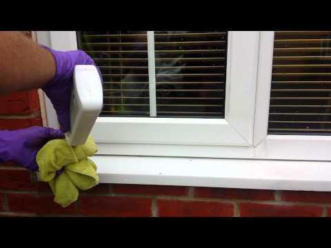 Ashford UPVC Window Frame Clean (purple-rhino.co.uk) 0800 1577484