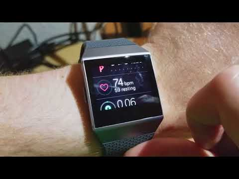 Fitbit Ionic Heart Rate Tracking