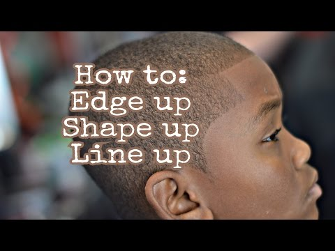 How To Edge up | Shape up | Line up | Step By Step