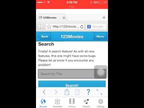 How to watch movies free on iPhone iPad iPod etc
