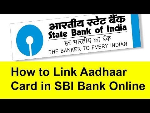 How to Link  Aadhaar Card with SBI Bank online | Tamil Banking