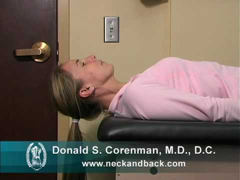 Neck sit-ups | Neck-Strengthening Exercises | Physical Therapy for the Neck | Spine Surgeon in Vail