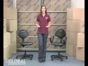 Globalindustrial.com 5-Way Adjustable Ergonomic Chair