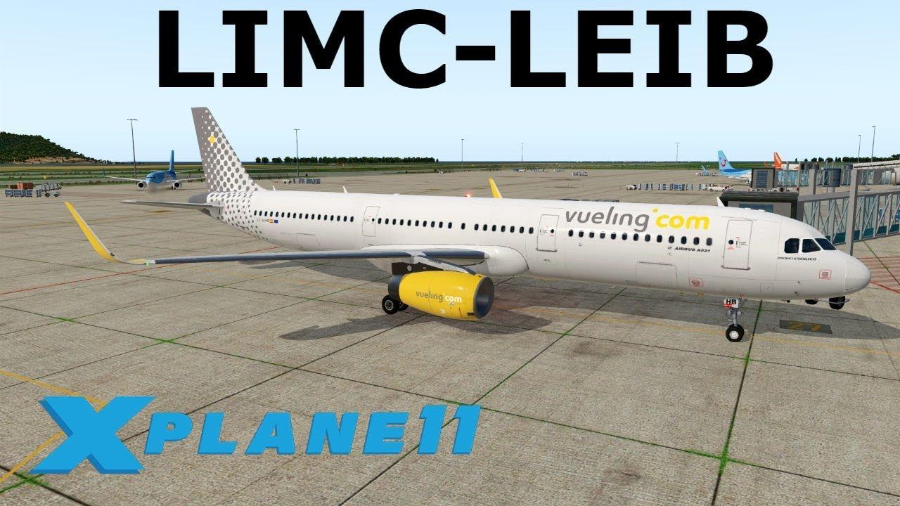 ***Toliss A321 Release Version***  | A321 | Milan (Malpensa) to Ibiza