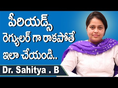 Irregular Periods in Teenage Girls Telugu | Reasons Your Period is Late | Dr.B.Sahitya | Doctors Tv