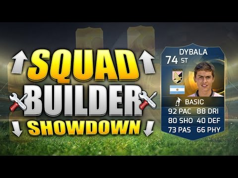 FIFA 15 SQUAD BUILDER SHOWDOWN!!! THE RAREST TOTS EVER!!! Team Of The Season Dybala