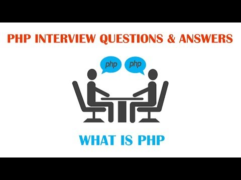 PHP Interview Questions and Answers - What is PHP