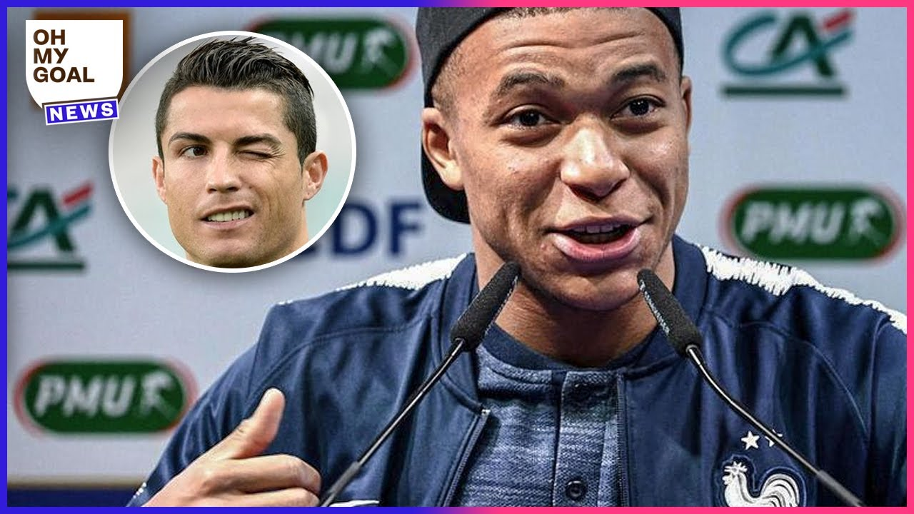 Kylian Mbappé's PERFECT reaction after being compared to Cristiano Ronaldo | Oh My Goal