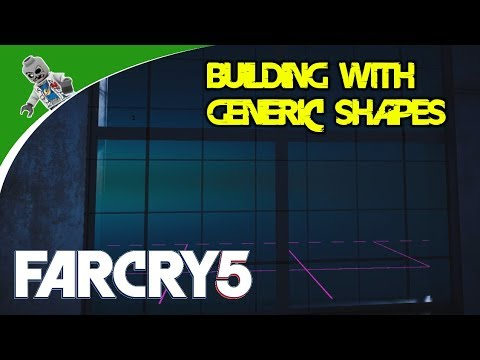 Building a Sci-fi Setting with Generic Shapes - Learning the Far Cry 5 Map Editor
