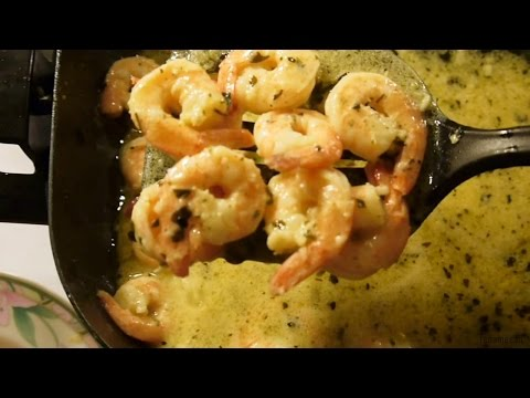 I cook Shrimp Scampi from frozen to cooked