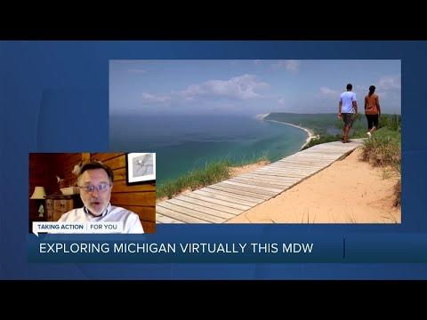 Exploring Michigan virtually during the stay-at-home order