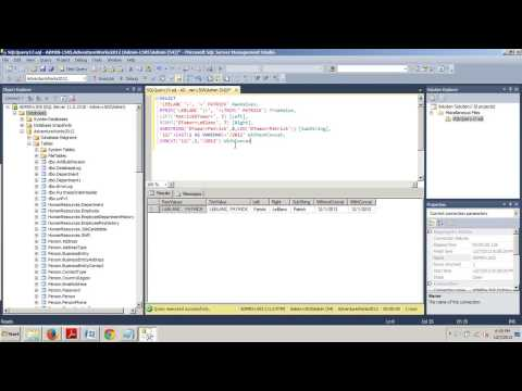 SQL Server tutorial 44: Using string functions