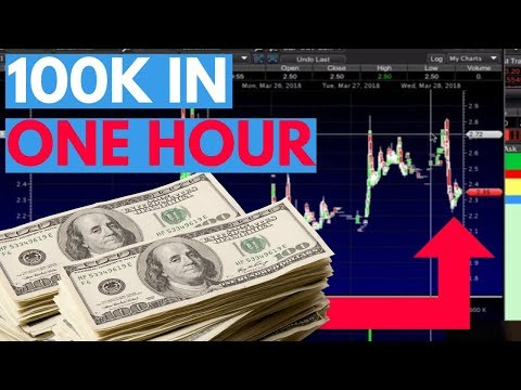 How To Make $2,000-$100,000 Trading Penny Stocks In An Hour