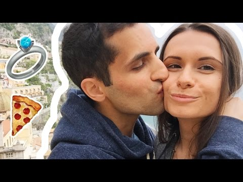 PIZZAS AND A PROPOSAL | Positano Vlog
