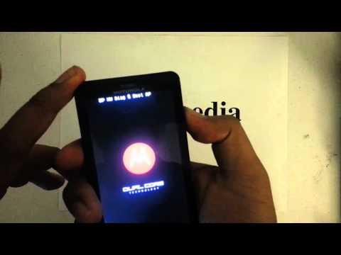 How to Factory Restore Hard Reset or Password Wipe the Motorola Droid X2 Verizon