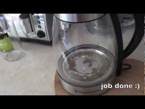 HOW TO: de-limescale your kettle...