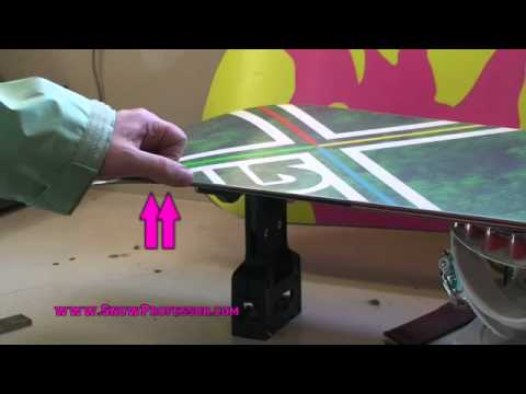 How to Snowboard: Detune Tip & Tail