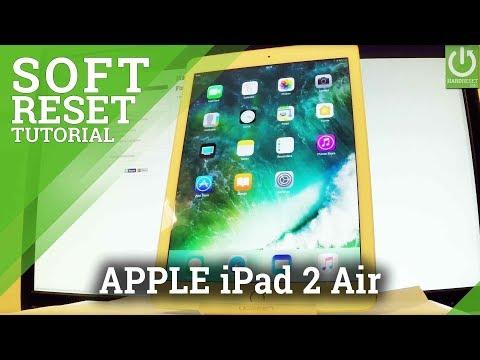 APPLE iPad Air 2 FORCE RESTART / Soft Reset / APPLE Reset