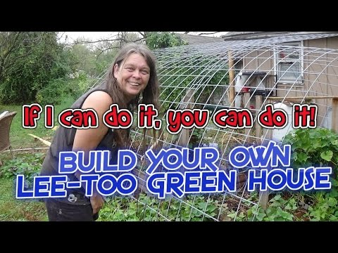 Do it yourself greenhouse addition (Part 3)