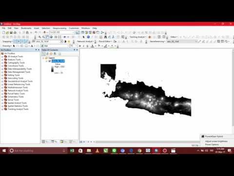 Tutorial Arcgis#How to create contour