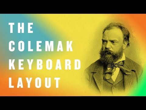 Techie Talk: Episode 20, The Colemak Keyboard Layout