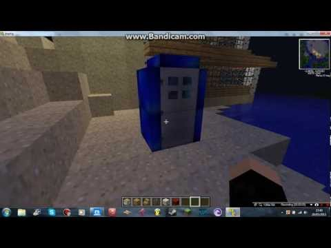 Minecraft tardis ( time and relative dimension in space)