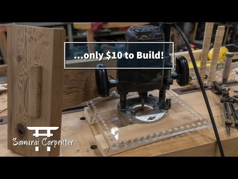 SUPER SAMURAI JOINERY JIG! Mortise And Tenon Joint Demo
