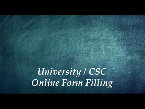 Step 3 - Filling Online Forms - Chinese Government Scholarship - In Urdu