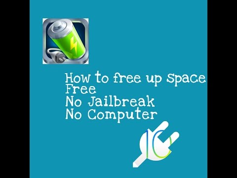 HOW TO FREE UP STORAGE FREE | (NO JAILBREAK) (NO REVOKE) IOS 7-10.3