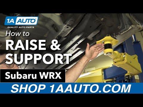 How to Raise & Support 11-16 Subaru WRX