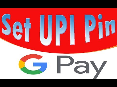 What is upi pin and how to set or create UPI pin in Google Pay app in Hindi