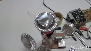 How to make a Van de Graaff generator (electrostatic generator)