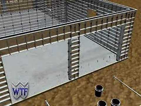 Concrete Forms Construction of Reinforced Concrete Walls