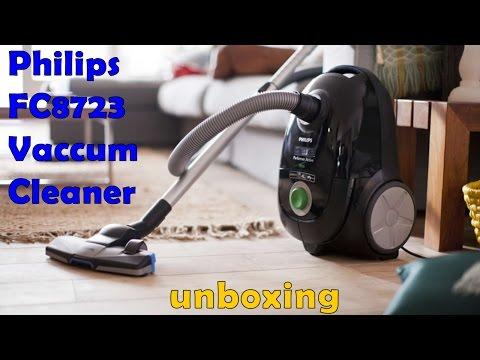 Philips FC8723 Vacuum cleaner Unboxing