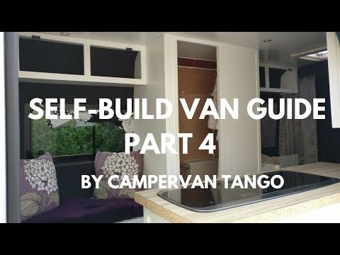 CAMPERVAN BUILD: Self build van guide - part 4, Kitchen Units, Shower Cubicle, Cupboards