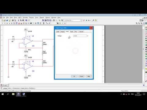 Op-Amp | Instrumentation Amplifier Circuit Simulation in Multisim