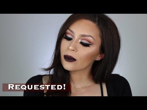 Drug store cut crease makeup tutorial