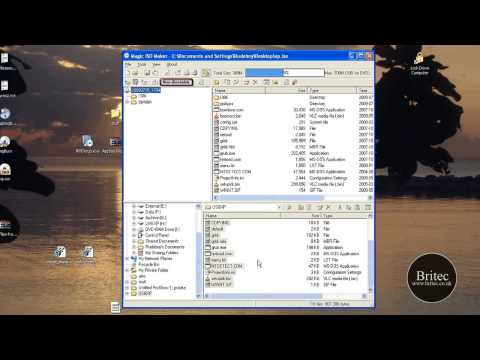 How to create a ISO image and make ISO image bootable by Britec