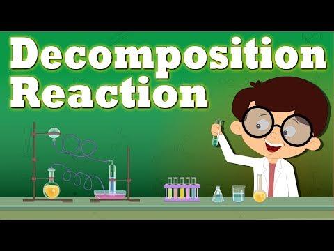 Decomposition Reaction | It's AumSum Time