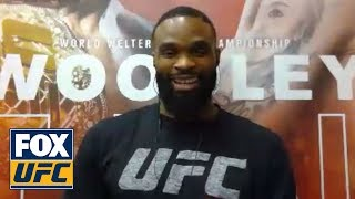Tyron Woodley talks to UFC Tonight | INTERVIEW | UFC TONIGHT