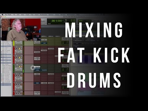 How To Mix Fat Kick Drums - Into The Lair #116
