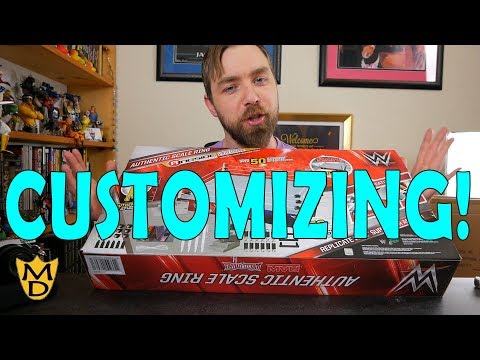 Customizing a WWE Authentic Scale Ring by Wicked Cool Toys