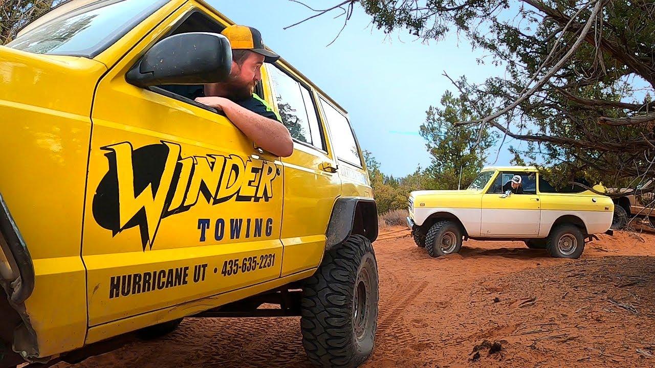 Not Again! Scout Truck Breaks Deep In The Desert Twice