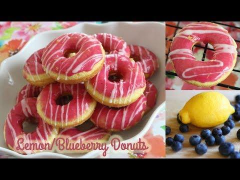 Lemon/Blueberry Donuts! CakeTUBEjb X Minos