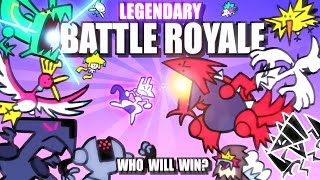 Legendary & Mythical Pokemon Battle Royale ANIMATED 🌍 Collab With @Lockstin & Gnoggin