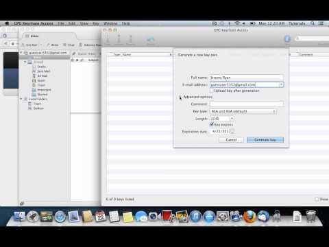 OpenGPG on Mac OS X
