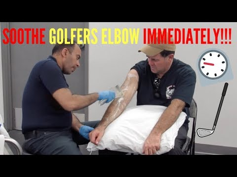 1+ Years Golfer's Elbow Pain Relieved In Minutes