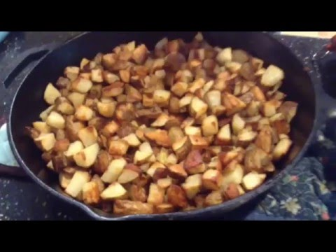Secret Seasoning for Grilled Hash Brown Potatoes at the end