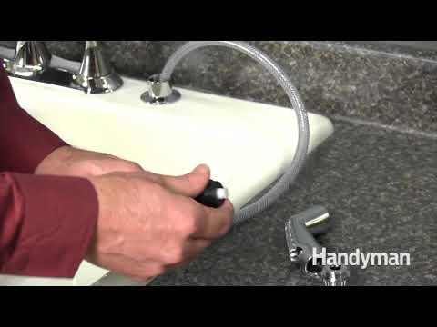 How to Repair a Sink Sprayer