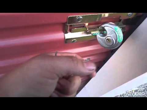 Picking Brinks R70 Storage Lock